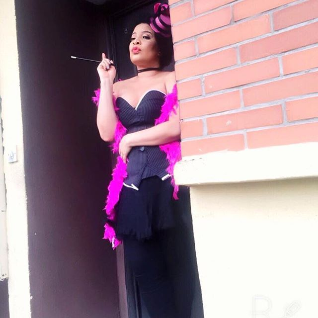 Beautiful photos from Monalisa Chinda's burlesque inspired bridal shower   Nigerian: Breaking News In Nigeria   Laila's Blog
