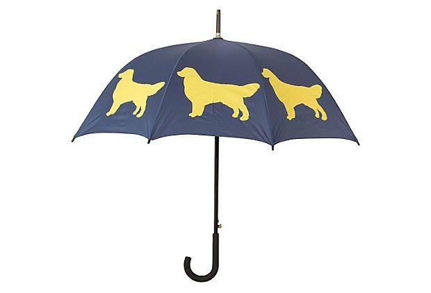 Cane Umbrella, Golden Retriever on OneKingsLane.com