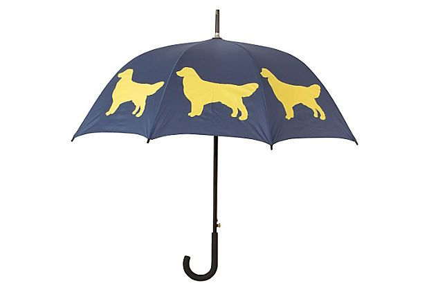 Cane Umbrella, Golden Retriever on OneKingsLane.com