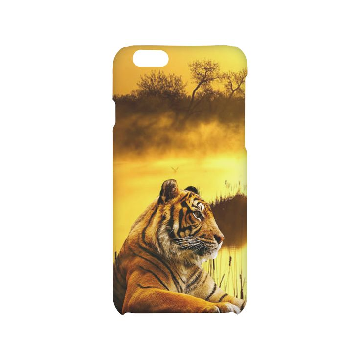 Tiger and Sunset Hard Case for iPhone 6/6s. Free Shipping. #artsadd #iPhoneCase #tigers