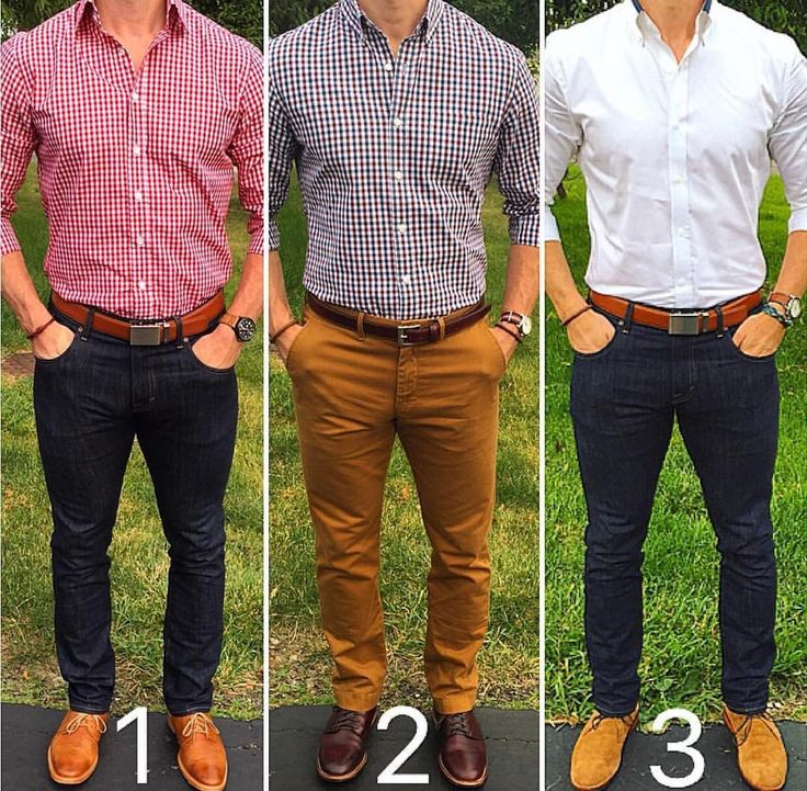 3 smart casual Friday looks from @chrismehan  Which one?