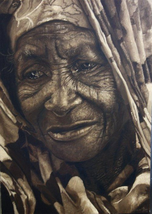 dynamicafrica:  Works by South African artist Loyiso Mkize