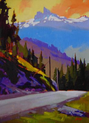 Artist: Mike Svob, Title: The Road Back - click on image to enlarge
