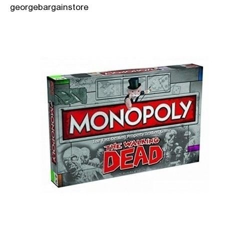 Monopoly Walking Dead Edition Survival Board Game Sealed Brand Collector Factory