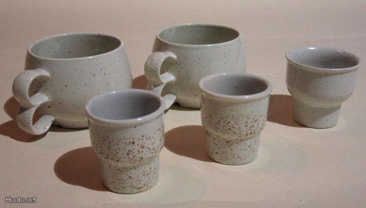 Pentik Halla -cups and eggcups