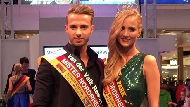 Julian Diebold & Carmen Mercedes Kroll - Mister & Miss Nordrhein-Westfalen 2015