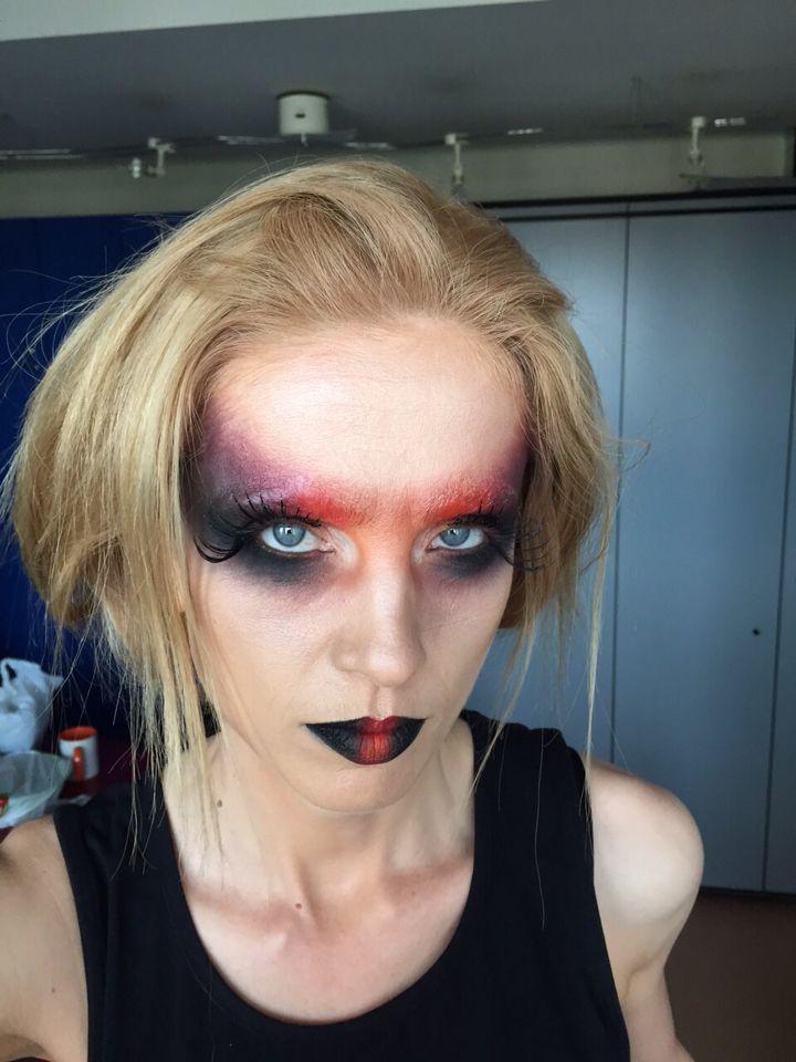 #fashion #makeup#tribal