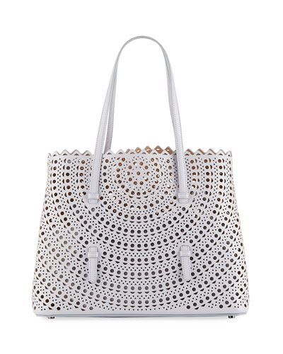0069e4bd6 V42KN ALAIA New Vienne Small Shopper Tote Bag | Women's Bags And ...