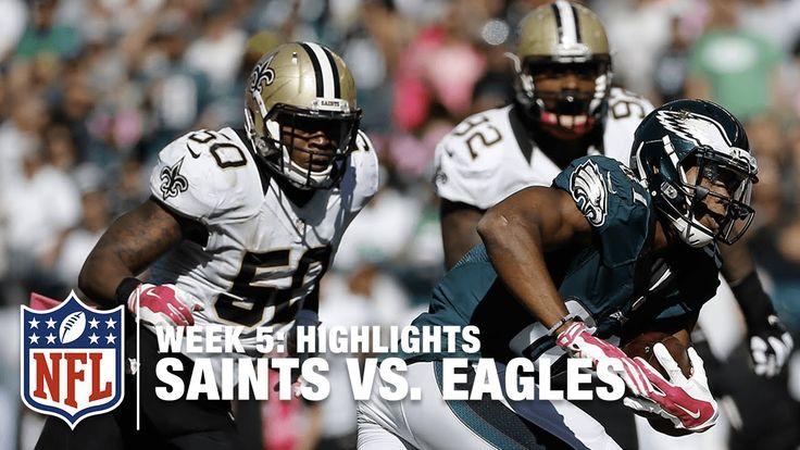Saints vs. Eagles   Week 5 Highlights   NFL