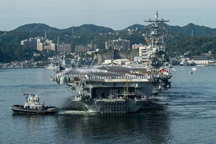 USS Ronald Reagan 2015.⚓