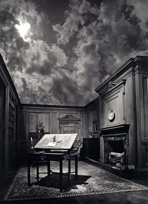 Detroit-born, Florida-based renowned photographer Jerry Uelsmann has been manipulating photos long before Photoshop transformed the world of photography. The skilled and diligent creative has produced remarkably believable surreal landscapes by hand in the dark room. Without the aid of photo editing software, Uelsmann uses multiple negatives and up to a dozen enlargers to create composite images that boast a wild imagination.