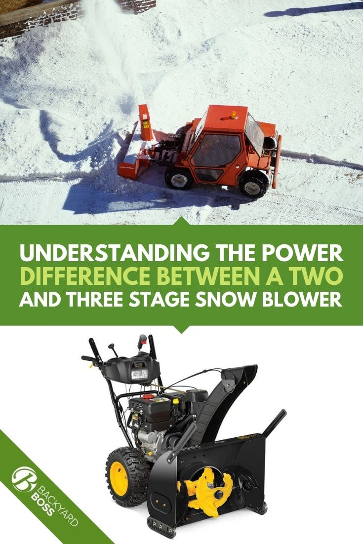 Three Vs Two Stage Snow Blowers Powerful How To Snow Removal Made Easy Snow Blower Snow Removal Snow Blowers