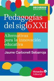 Interesantisima obra de Jaume Carbonell Sebarroja. Publicación de 2015. Una obra compuesta por 8 capítulos centrales, cada uno de ellos dedicado a un movimiento pedagógico distinto, todos ellos alejados de la enseñanza tradicional. Recomendadisimo!!!!