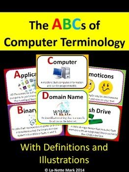 basic computer science terms and definitions Interested in learning some computer terms for children read on.