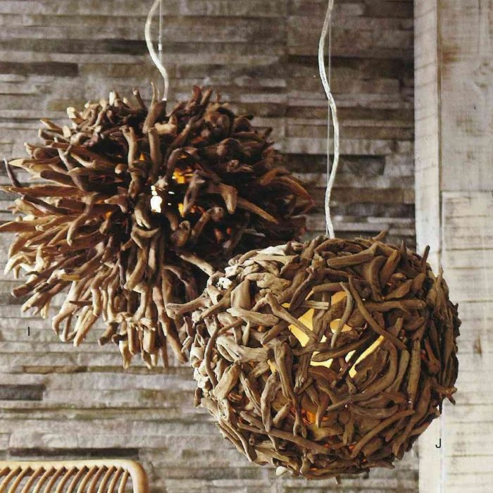 Driftwood Hanging Light