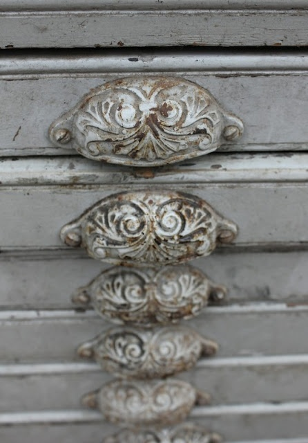 Atelier Trouvais 5 Draw Pulls With Patina Find This Pin And More On French Country Drawer