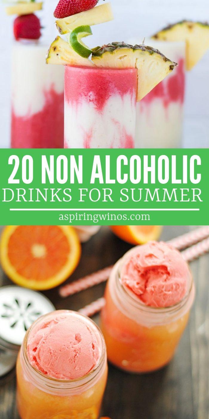20 Non Alcoholic Drink Recipes