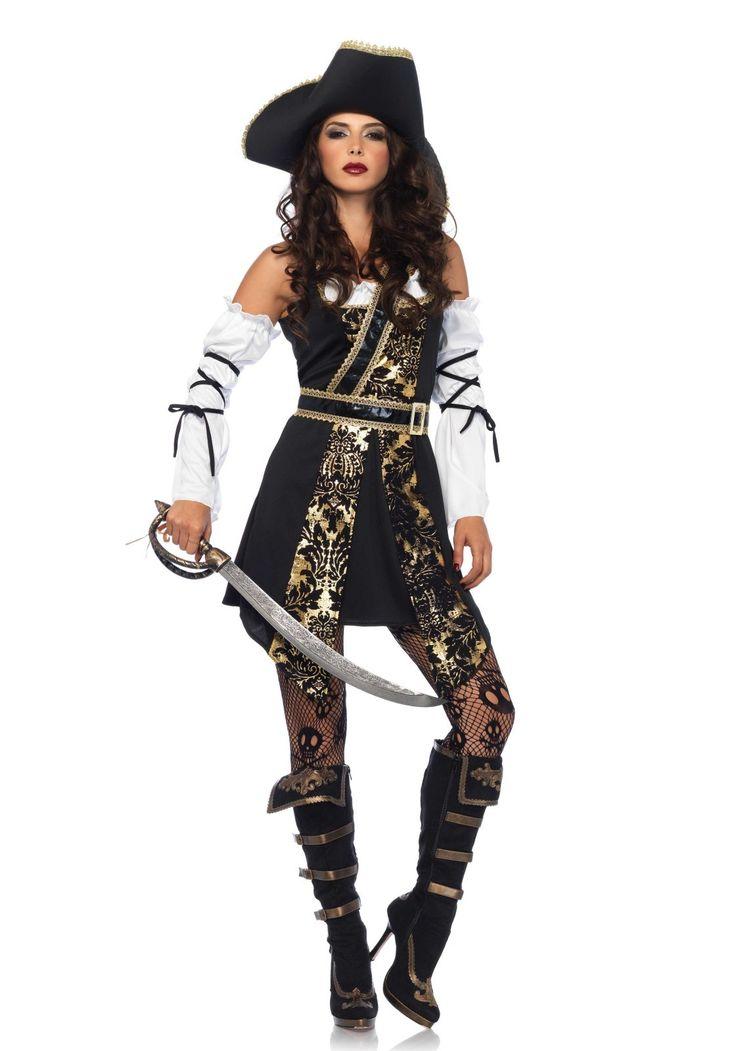 Vrouwelijke piraat kostuum