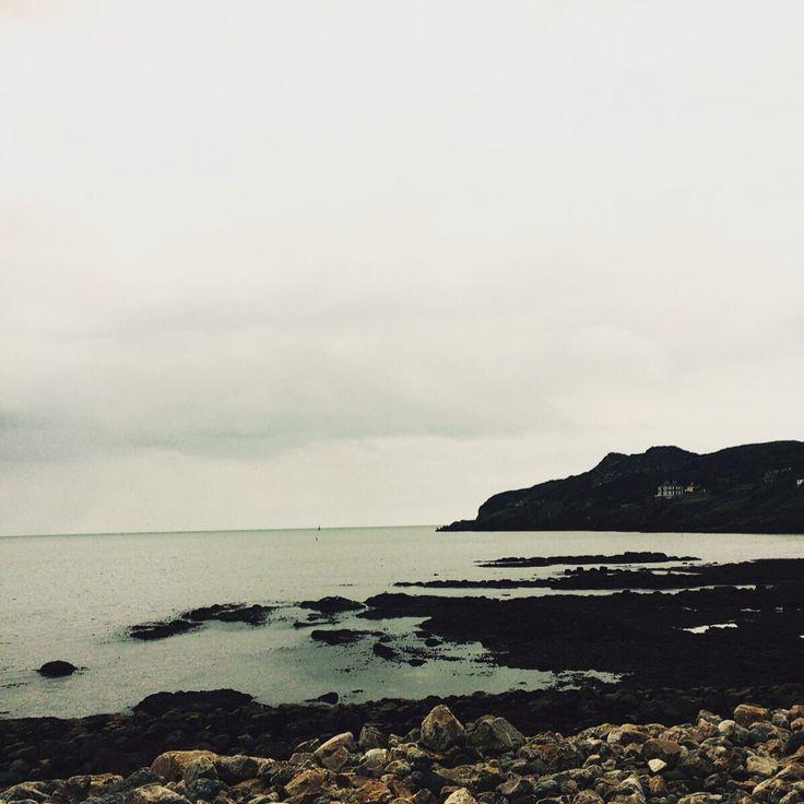 Howth July 2015 #howth #sea #rocks #greyskies #irishsummer  #dublin #ireland
