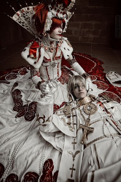Trinity Blood: Esther x Alessandro