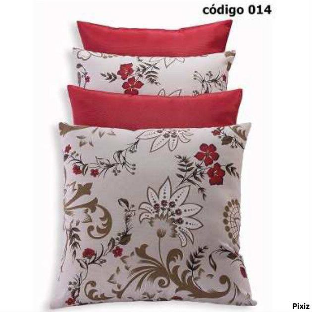 http://www.kitalmofadasdecorativasofa.com.br/almofadas-cheias/kit-4-almofadas/kit-4-almofadas-vermelhas-floral-jogo-completo/ Kit 4 Almofadas Vermelhas Floral Jogo Completo