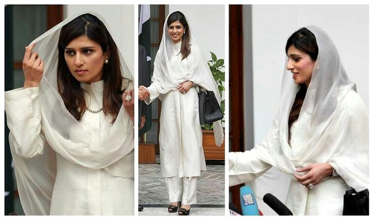 Hina Rabbani Khar was the former foreign minister of Pakistan