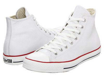 GENUINE CONVERSE Chuck Taylor® LEATHER All Star Hi Tops White $59 SHIPS FREE ♥ BUY HERE: http://beachhippie.storenvy.com/collections/817644-shoes/products/9291703-converse-chuck-taylor-leather-all-star-hi-tops-white-59-ships-free ♥ INCLUDES NORTON SHOPPING PROTECTION & LOWEST PRICE GUARANTEE AND PAYPAL IS ACCEPTED