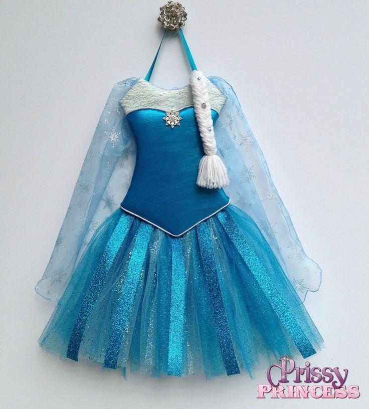 Elsa tutu bow holder #frozen #disney