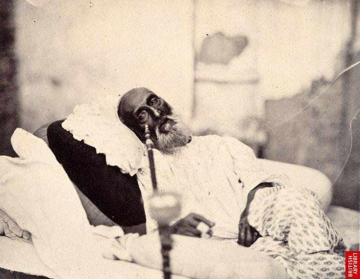 Emperor Bahadur Shah in May 1858