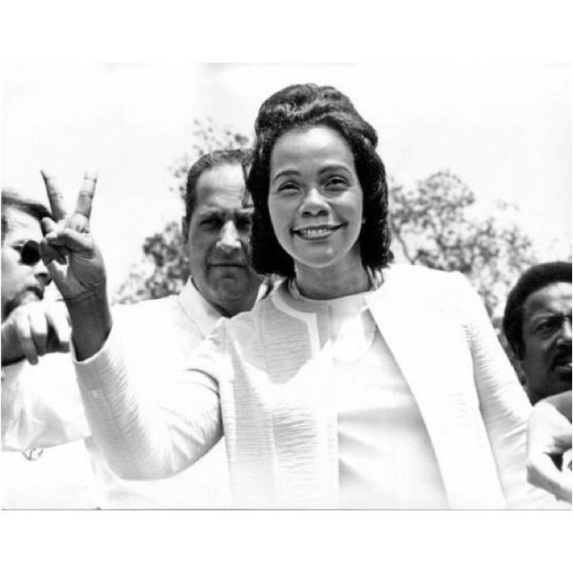 Mrs Coretta Scott King