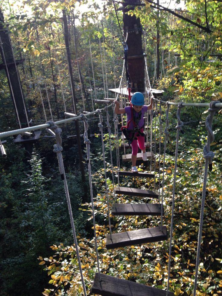 Kletterpark mit Mae :)
