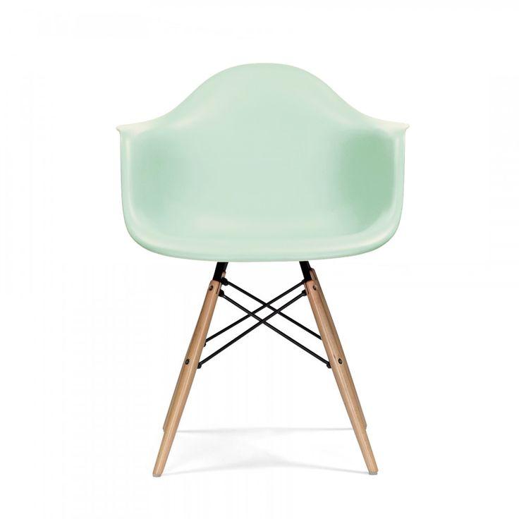Charles E Style Limitierte Farbe - DAW Stuhl Pfefferminz