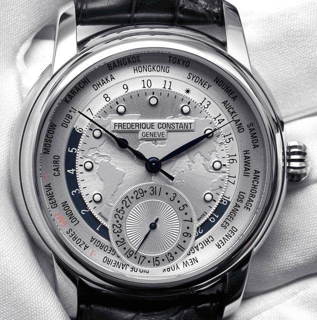 Frederic Constant Jouvenot Manufacture Worldtimer-