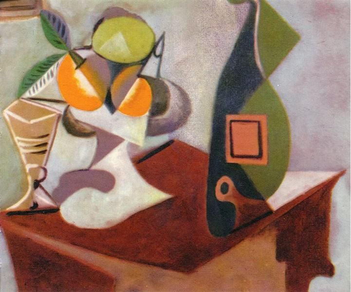 Still Life With Lemon And Oranges 1936