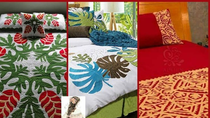 Applic Work Bedsheets & Pillow Covers Design/Double Bed Sheet with Pillo... #DoubleBedSheets