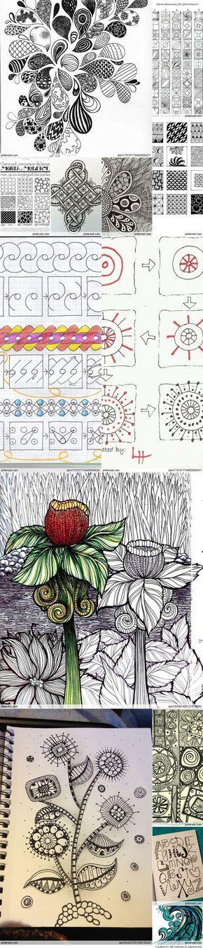 zentangle and doodle: