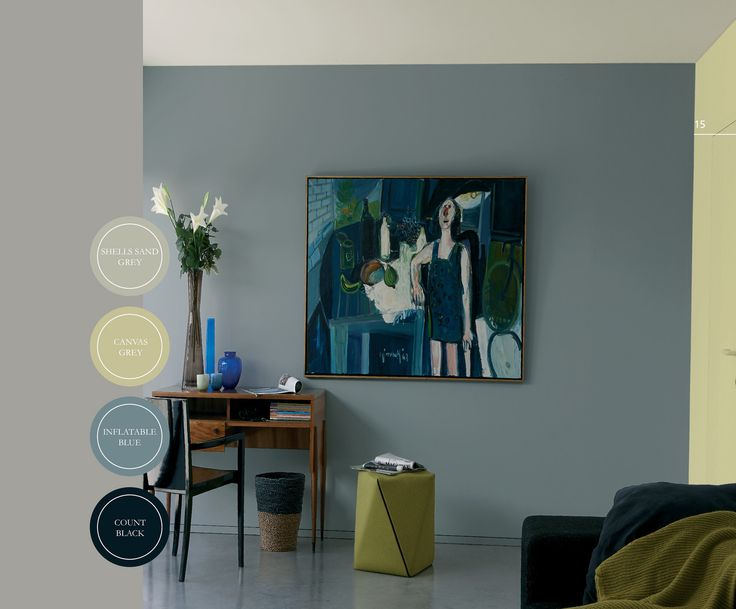 Kalkmatte muurverf voor binnen. Verkrijgbaar in 20 kant-en-klaar kleuren in een prachtig vergrijsd kleurenpalet.