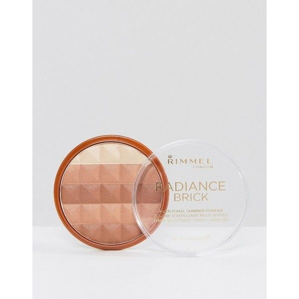 Rimmel London Radiance Shimmer Brick ($7.88) ❤ liked on Polyvore featuring beauty products, makeup, cheek makeup, brown, rimmel, rimmel makeup, rimmel cosmetics, palette makeup and highlight makeup