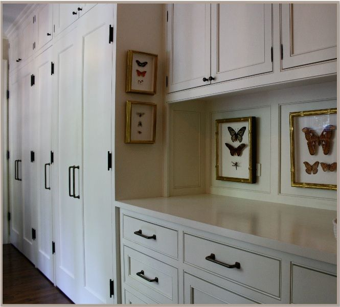 I Like These Cabinet Door Pantry Etc Colors For The: Paschen. Exposed Hinges