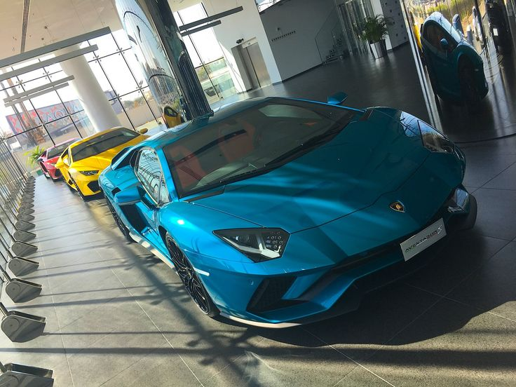 Take A Look Inside The Largest Lamborghini Dealership In World