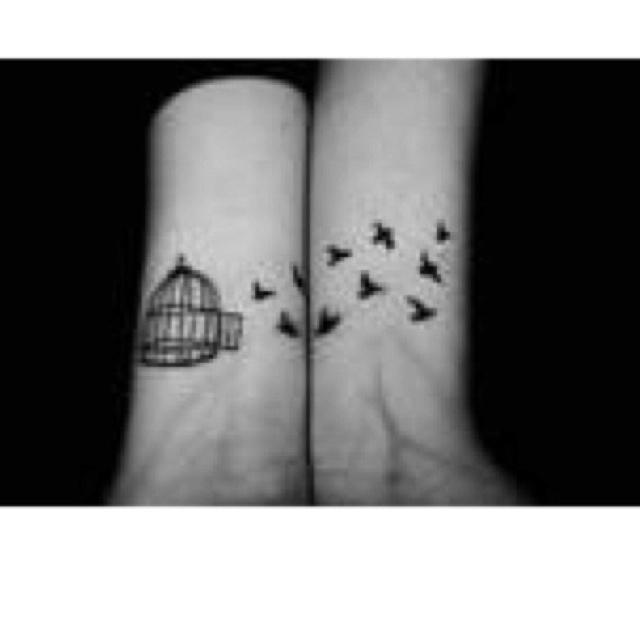 I love bird tattoo's.