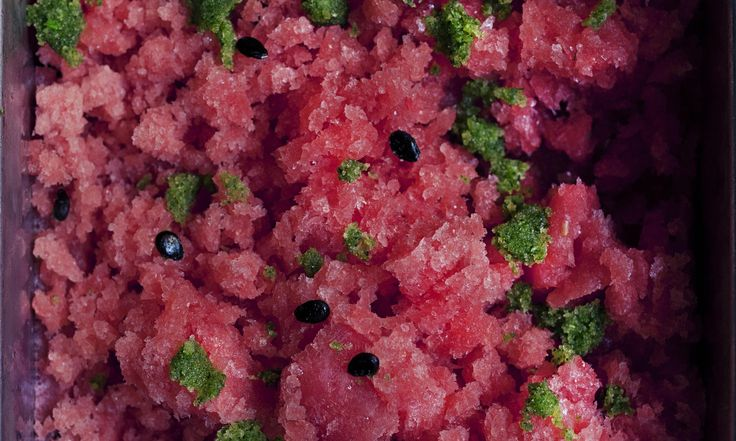 Sparkling granita full of flavour and purple ice cream with a toothsome tang of blackcurrant bring the best of the summer fruits to the table, writes Nigel Slater