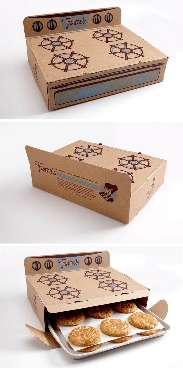 Thelma's Treats Cookies Packaging