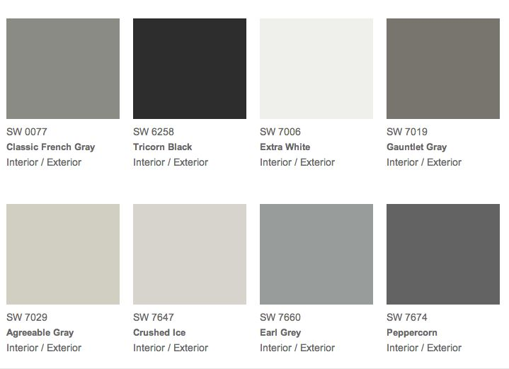 Sherwin Williams Grizzle Gray Related Keywords Sherwin