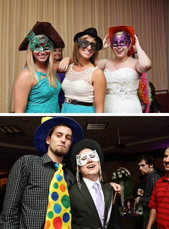 Fun Ideas For Wedding Photobooth Props