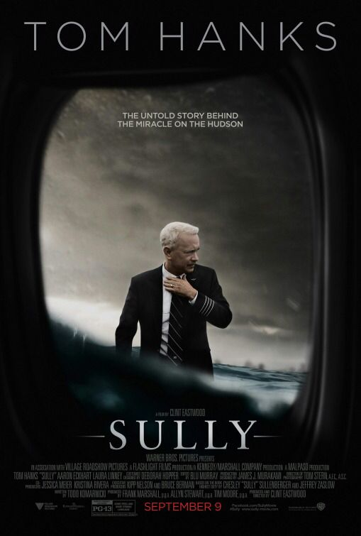 Sully, Eastwood. Sully n'est pas un mauvais film, c'est même plutôt réussi. Cependant, je ne comprends pas l'enthousiasme qu'il a pu susciter. sa principale qualité, selon moi : il est totalement dépourvu des relents réactionnaires qui jonchent les derniers films de Clint. C'est déjà bien.