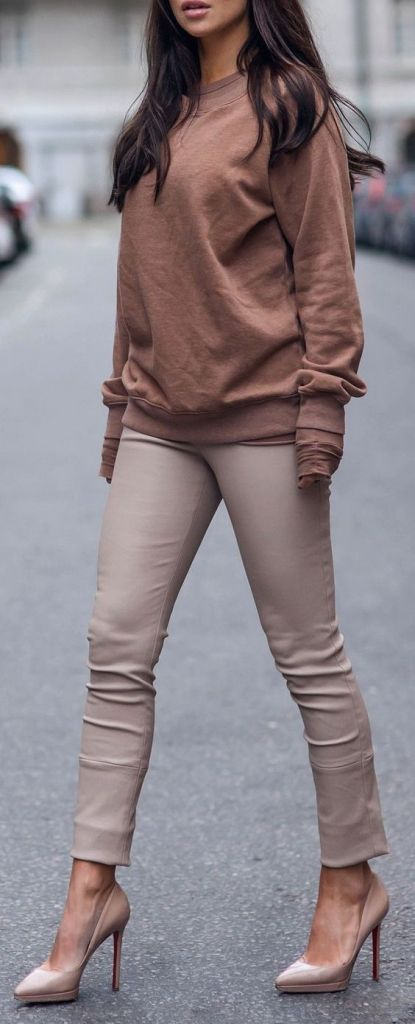 #fall #outfits / camel