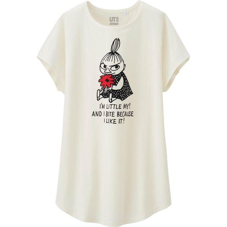女裝 Moomin 印花長上衣(短袖) | UNIQLO