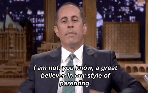 Jerry Seinfeld Talks About His Issues With Parenting