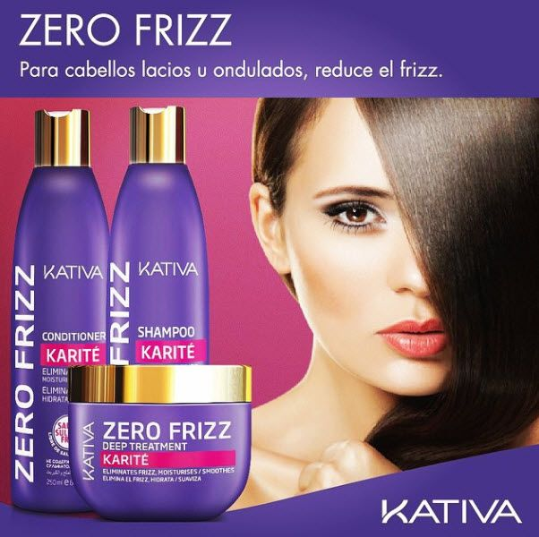 Les presentamos KATIVA ZERO FRIZZ a base de KARITE